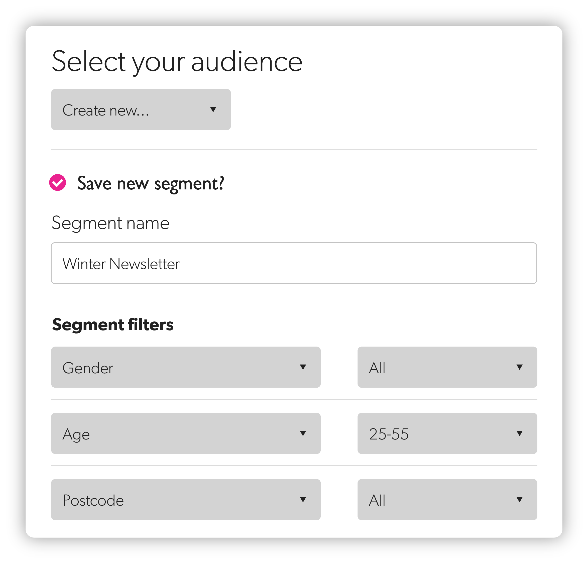 Improved targeting and personalization