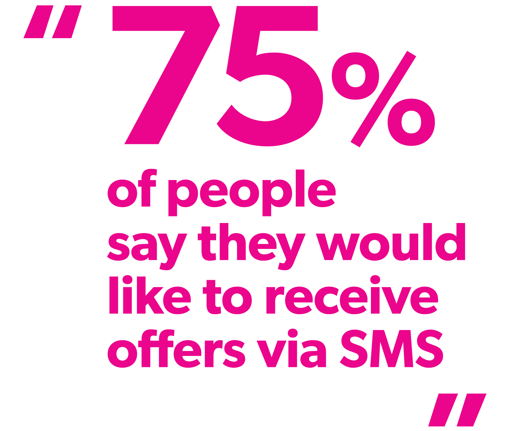 Why business don't use SMS or text messaging